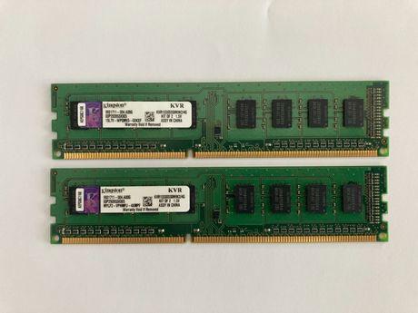 Kingston 4GB (2x2GB) 1333Mhz DDR3 cena za obie kości