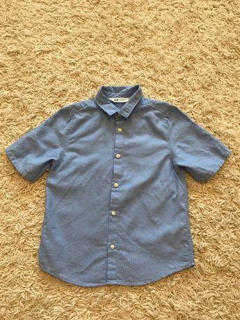 Рубашка на мальчика НМ 6-7 лет (122см)