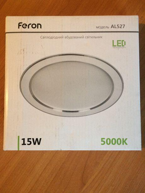 Светодиодный светильник Feron AL 527 Белый (круглый) 15W 5000K