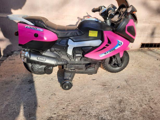 Детский мотоцикл на акумулятори