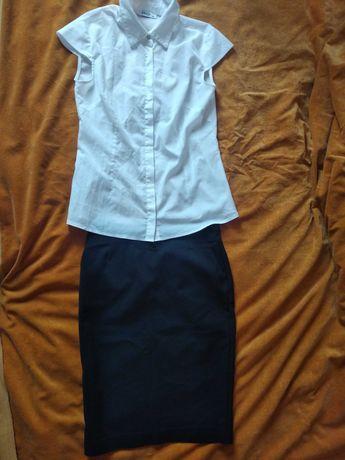 Блузка юбка