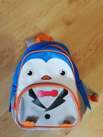 Plecak przedszkolny mały pingwin