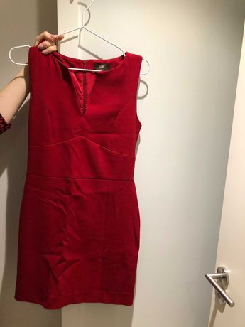 Vestido vermelho da Globe