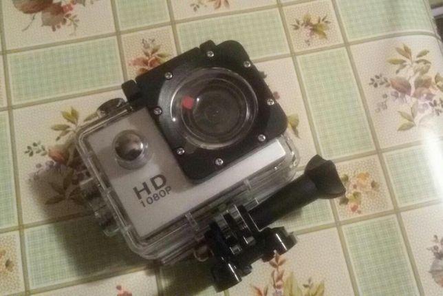 Экшн камера A7 Sports Cam HD 1080p спортивная видеокамера новая