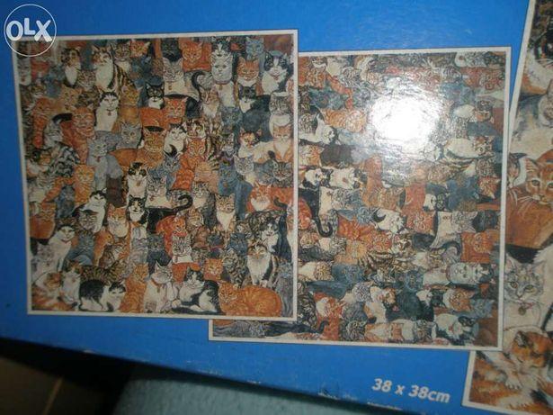 Puzzle com imagem dupla