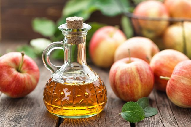 Ocet jabłkowy eko ekologiczny z ocet jabłek 500 ml 0,5 l