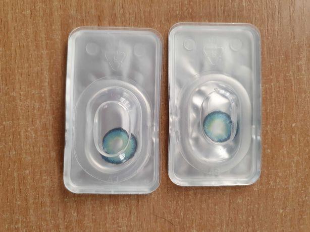 Kolorowe soczewki kontaktowe (-1,75)