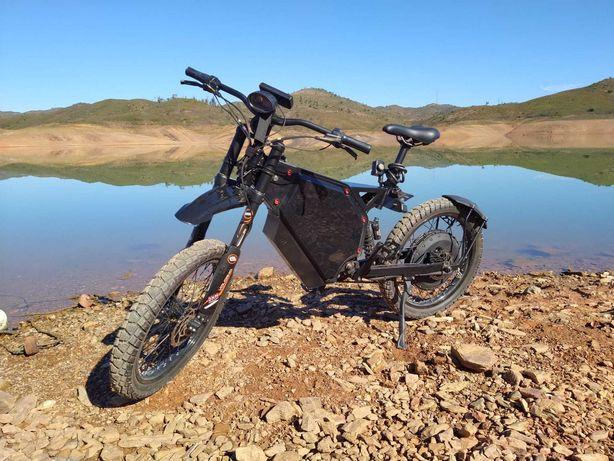 e-bike 6s dos 0-100, 90-100 km de  autonomia