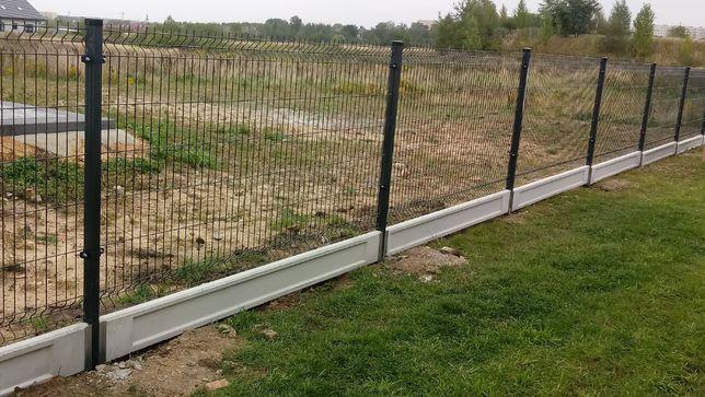 Panel ogrodzeniowy panele ogrodzenia MONTAŻ fi 4 fi5 123 cm 153 cm 173