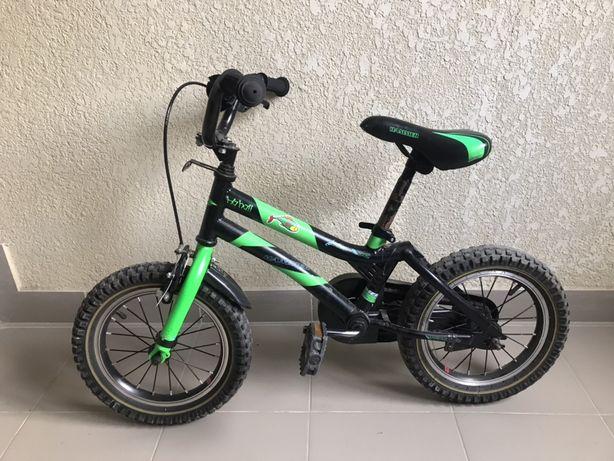 Велосипед дитячий Hamer 4-7років з батьківською ручкою