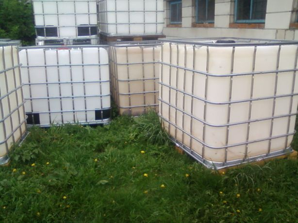 Paletopojemnik CZYSTY,zbiornik 1000l na wodę(Melasa,Paliwo,Rsm)