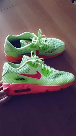 Nike Airmax air max neonowe 38,5 hit różowe limonkowe