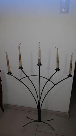 Swiecznik na 5 świec