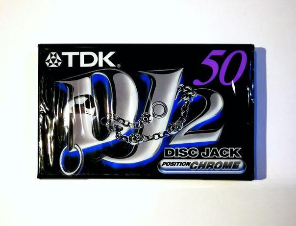 Cassete áudio K7 TDK DJ2