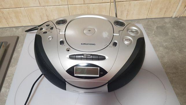 Radioodtwarzacz CD, kasety, MP3, USB, SD. Grundig. Wysyłka