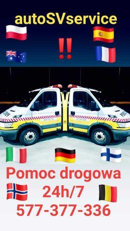 Laweta Poznan, Pomoc Drogowa - autoSVservice