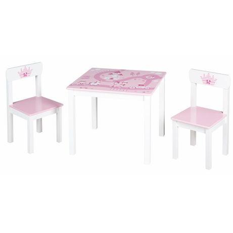 Roba drewniany stolik z krzesłami