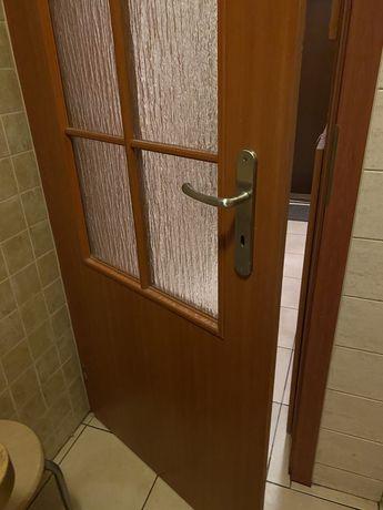 Drzwi wewnętrzne Porta z szybą 70 lewe skrzydło