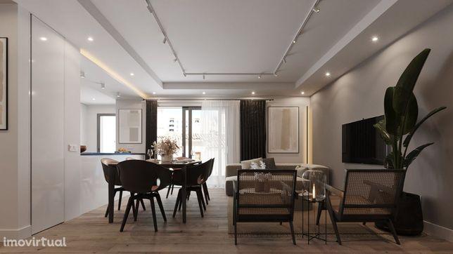 Apartamento T3 Novo No Centro De Olhão C/ PISCINA