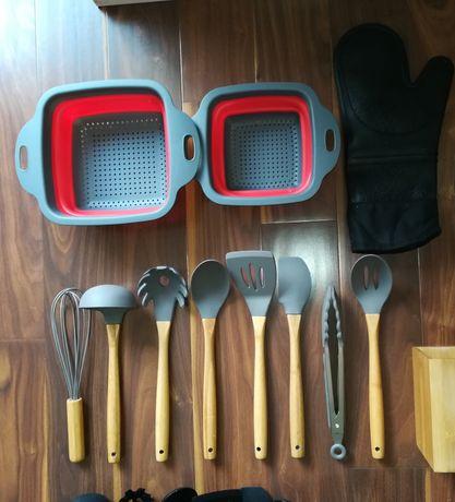 Przybory kuchenne (12 elementow), narzedzia, nowe, super!