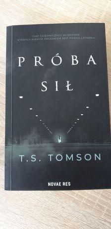 PRÓBA SIŁ T.S.TOMSON miekka okladka nowa ksiazka