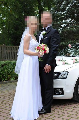 Suknia ślubna r. 34-36