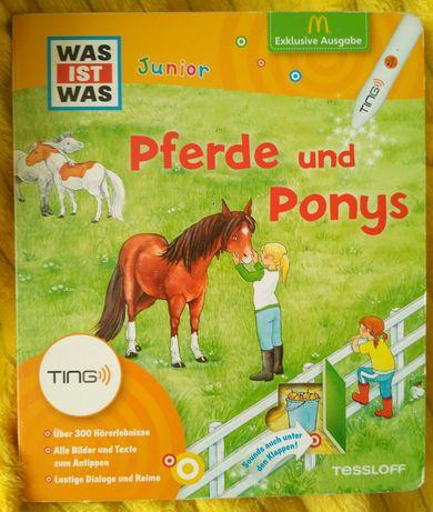 Кони и пони Pferde und Ponys книга на немецком языке