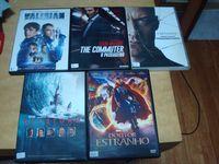 lote 12 dvds originais recentes