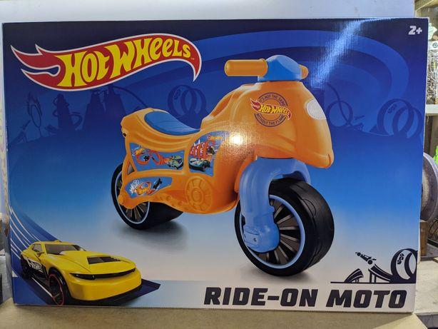 Детский мотоцикл Хот Вилс - беговел (толокар), от 2х лет.