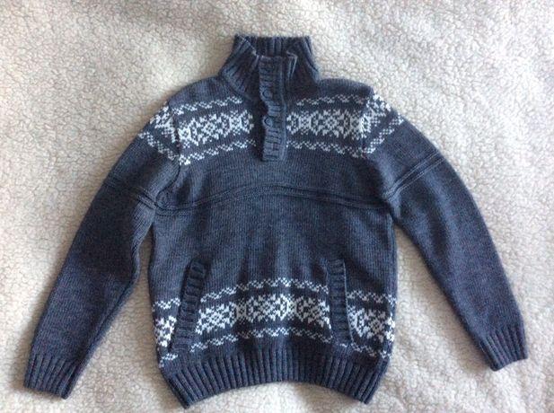 Sweter wełniany zimowy