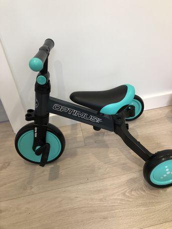 Rowerek trzykołowy Milly Mally Optimus 3w1 nowy!