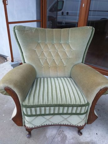 barokowy fotel używany
