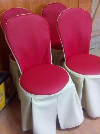 Чехлы на стулья, мягкую мебель, текстиль для кафе и дома.