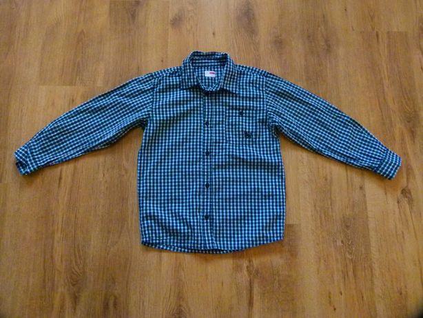 rozm. 134 name It koszula drobna kratka granatowa chłopięca