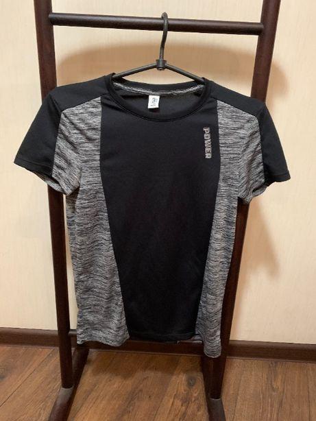 Подростковая футболка POWER (Германия) на 158 см в хорошем состоянии