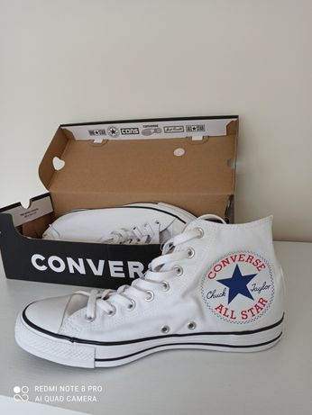 Converse białe 42,5
