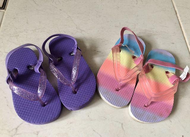 Детские вьетнамки пляжная обувь на девочку размер 21, 22