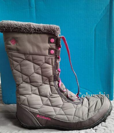 Śniegowce Columbia Youth Minx Mid II Waterproof Omni-Heat
