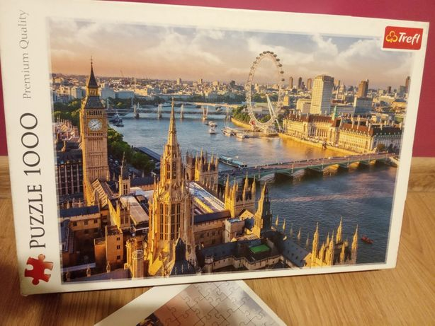 Puzzle 1000 - Londyn