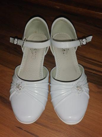 Buty komunijne, czułenka, pantofle rozm. 37 Badoxx