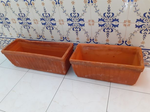 Vasos de barro para jardin