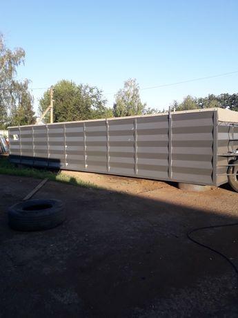 Кузов під зерно 61м3 тара 2100 кг.