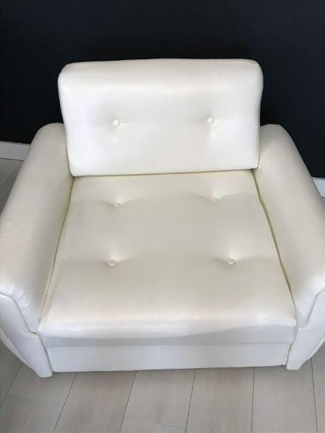 Кресло-кровать экокожа