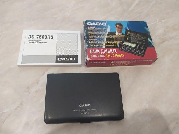 Продам электронную записную книжку Casio 7500 RS