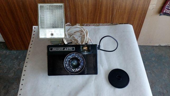 Фотоаппарат Вилия-авто + вспышка
