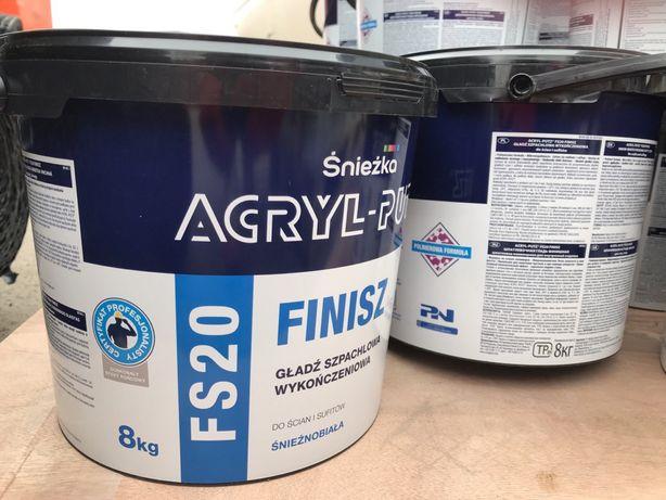 Acryl-putz акрилпуц польша (не україна) шпаклівка 17 кг
