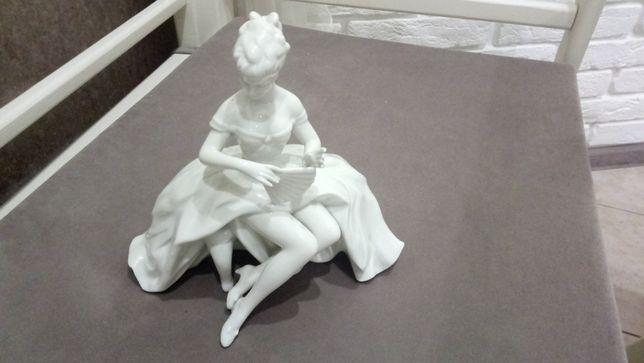 Фарфоровая статуэтка Wallendorf, Танцовщица с веером