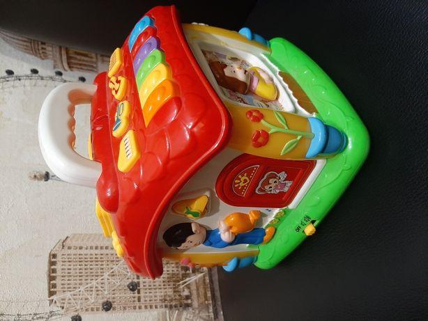 Домик детский музыкальный игрушечный.