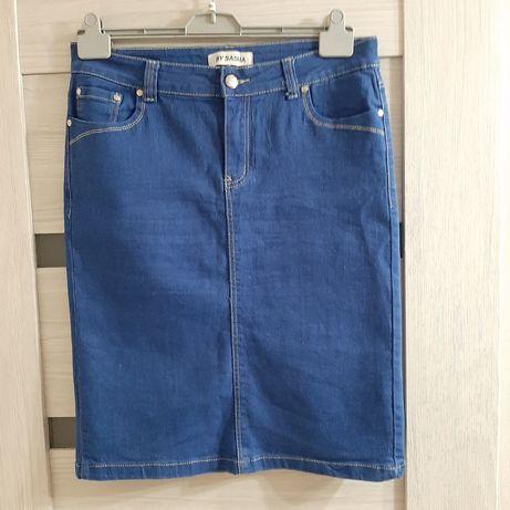Jeansowa spódnica roz.44