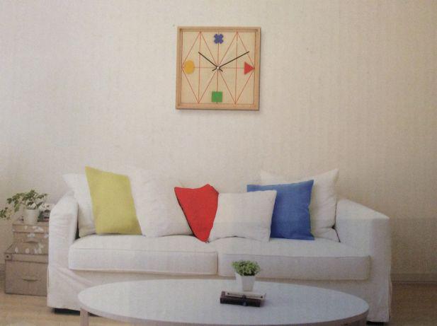 drewniany zegar ścienny NOWY design
